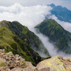 Поход на гору Ачишхо. Хребет Ачишхо