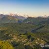 Панорама с горы Ахун